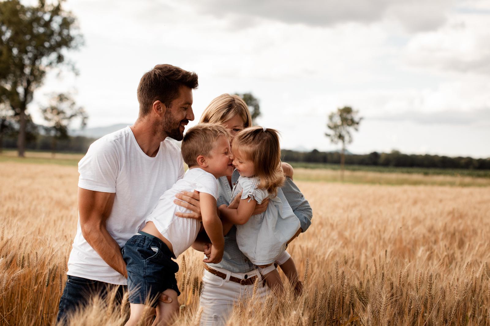 Séance Famille un soir d'été